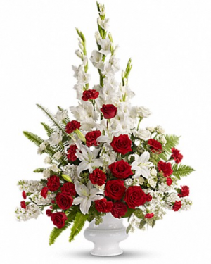 Memories to Treasure Sympathy Arrangement in Croton On Hudson, NY | Cooke's Little Shoppe Of Flowers