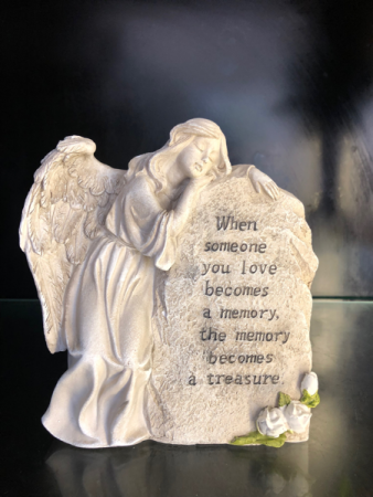 Memory Becomes A Treasure Memorial Stone