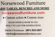 Memory Benchfrom Norsewood Furniture