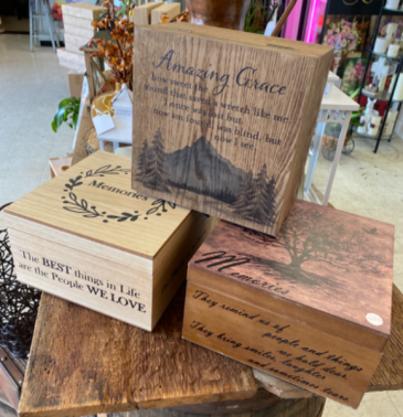 Memory Boxes Bereavement Gift