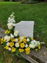 Memory Keepsake with Flowers
