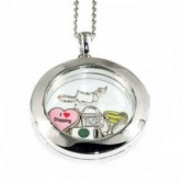 Memory Lockets a beautiful hinged locket with tiny treasures inside