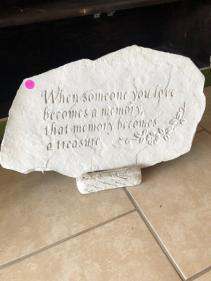 Memory Memorial Stone
