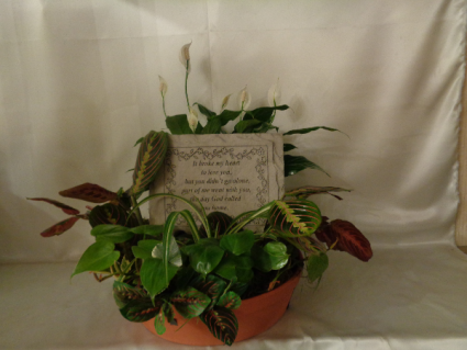 Memory Stepping Stone Planter (local delivery only)