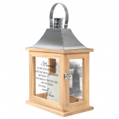Memory You Love Lighted Lantern with scenery