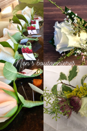 Men's boutonnieres Boutonnieres  in Prospect, CT | MARGOT'S FLOWERS & GIFTS