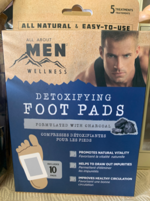 Men's Detox Foot Pads in Red Lake, ON | FOREVER GREEN GIFT BOUTIQUE