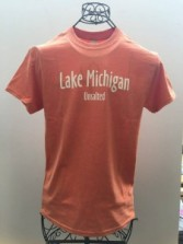 Men's Orange Tshirt Front