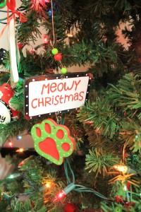 Meowy Christmas.A Courtyard Florist
