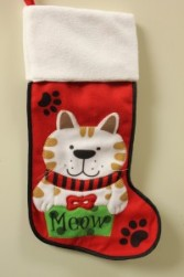 Meowy Christmas Stocking