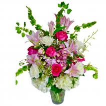 Mothers day flowers coral springs fl hearts flowers of coral mercedes smile vase arrangement mightylinksfo