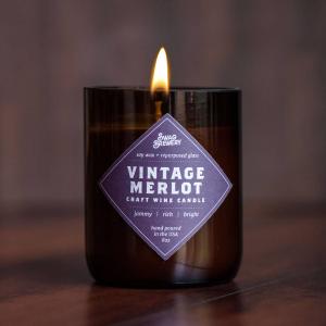 Merlot Candle  in Easton, CT | Felicia's Fleurs