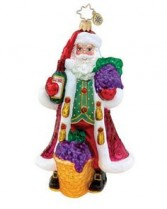 Merlot Merriment Christopher Radko Ornament