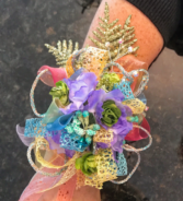 Mermaid Waves Prom Corsage