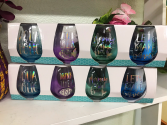 Mermaid Wine Glass Set