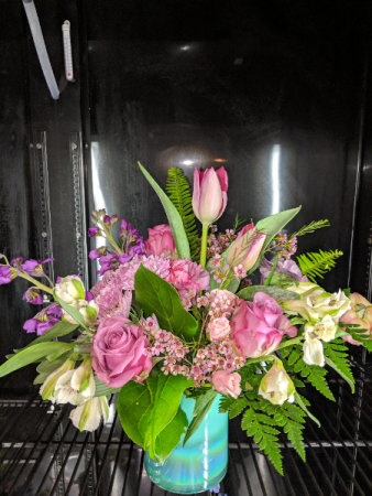 Mermaid's tail Mother's Day featured arrangement