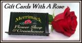 Merrimack Flower Shop Gift Card Gift Card