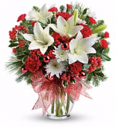 Merry All The Way Bouquet Christmas