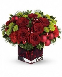 Merry and Bright Fresh Arrangement