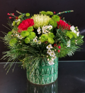 Merry and Bright Christmas Arrangement