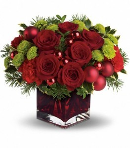 Merry and Bright Holiday Arrangement