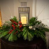 Merry and Bright  Lantern Centerpiece