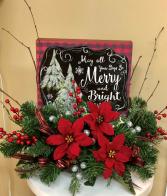 Merry and Bright Silk Arrangement