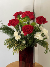 Merry and Bright  Tall arrangement