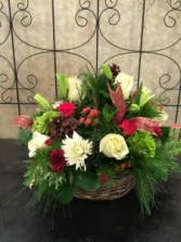 Winter Wishes Basket