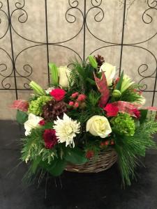 Winter Wishes Basket