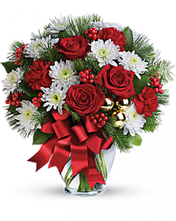 Merry Beautiful Bouquet Holiday