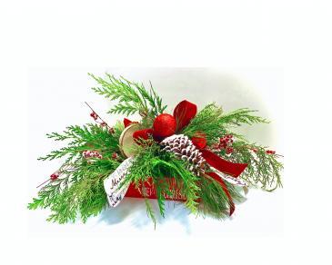 Merry Berry Christmas Fresh Arrangement