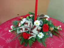 Merry Chris-Moose Centerpiece