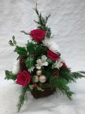 Merry Chris-moss Basket Abloom, Ltd Original