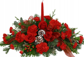 MERRY CHRISTMAS All red Centerpiece