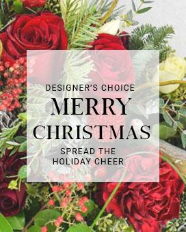 Merry Christmas Cheer Fresh Flowers
