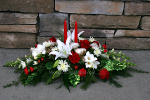 Deck the Halls Christmas Centerpiece in Woodinville, WA | Woodinville Florist®
