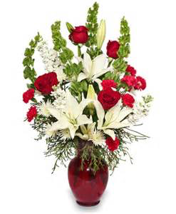 Merry Christmas Floral arrangment