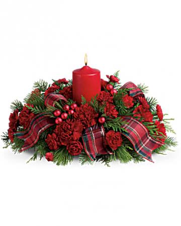 MERRY CHRISTMAS LIGHT CENTERPIECE