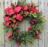 Merry Christmas Wreath FResh Wreath
