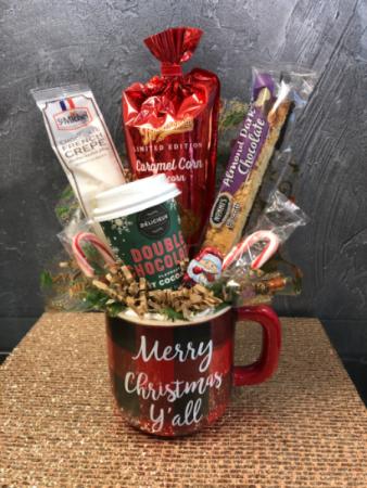 Merry Christmas Y'all Plaid  Mug