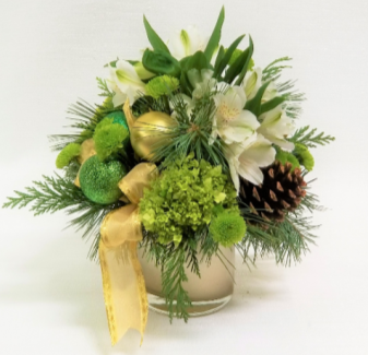 Merry & Gold  Holiday Bouquet