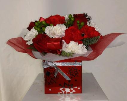 Merry Little Christmas Floral Design