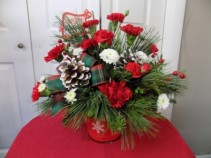 Merry Little Christmas  Fresh Arrangement