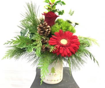 Merry Little Christmas Holiday arrangement