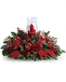 Merry Magnificence Christmas arrangement