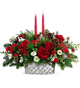 Merry Mercury Centerpiece DX Christmas