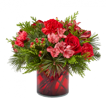 Merry Mistletoe Christmas Arrangement
