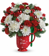 Merry Mug Bouquet One-Sided
