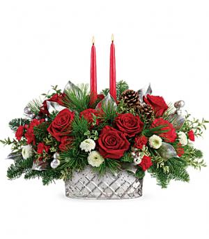 Merry Murcury Centerpiece  in Fort Collins, CO | D'ee Angelic Rose Florist